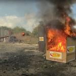 Esta é a forma mais inovadora e e eficaz criada até hoje para apagar um incêndio!